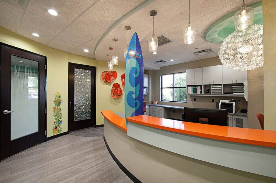 Dental Reception Area